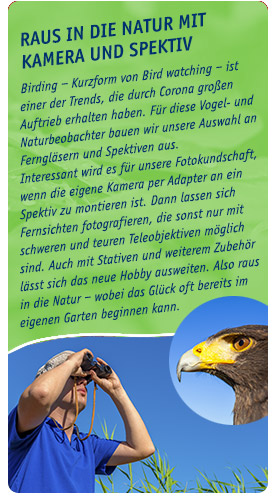 Birdwatching im Trend